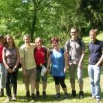 Kraftplatzwanderung-Gruppe